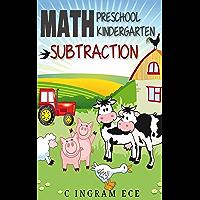 Math Preschool Kindergarten Subtraction (English Edition)