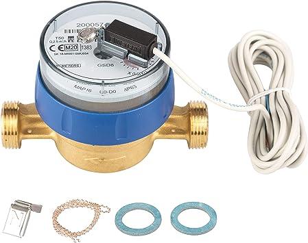 Wasserzahler Q3 2 5 Qn 1 5 Bl 110 Mm Mit Impulsausgang 1 Liter Gsd 8 Kaltwasser Amazon De Baumarkt