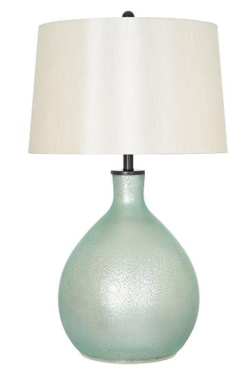 Catalina Lighting Addison 33 Green Sage Mercury Glass Gourd Shaped