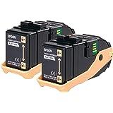 Pack 2 Toners Noir 2x6500p