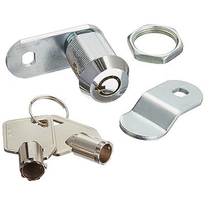 RV Designer L327, Ace Compartment Lock, 7/8 inch, 4 Per Pack, Compartment Hardware: Automotive