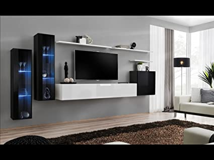 amazon com shift xi seattle collection high gloss living room
