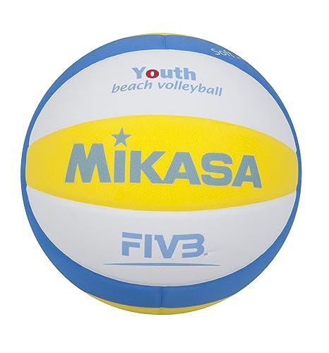 MIKASA Sbv 1629 - Balón de volei Playa, Color Azul, Blanco y ...