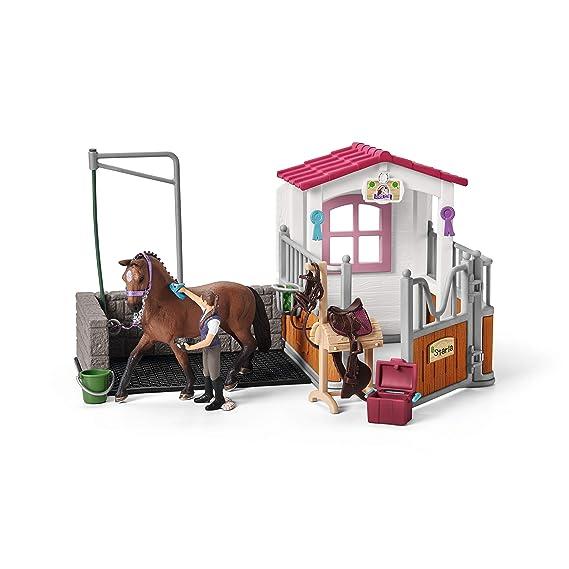 Schleich pferde waschplatz