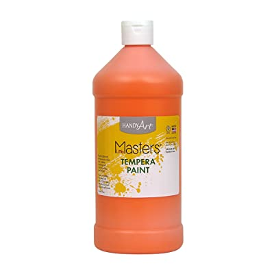 Handy Art Little Masters Tempera Paint 32 ounce, Orange: Arts, Crafts & Sewing