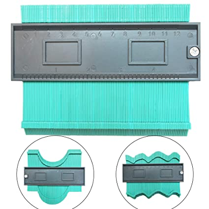 Duplication Plastic Contour Gauge Frame Profile 5 Inch for Winding  Pipes,Circular Frames,Ducts,Install Flooring, Many Objects and Woodworking  Project