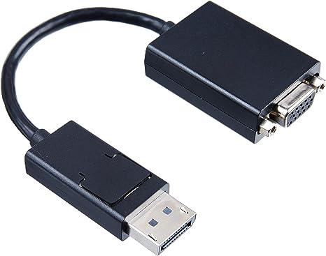 Adaptador para Cable VGA Lenovo DisplayPort VGA, DisplayPort, Male Connector//Male Connector, 0,2 m