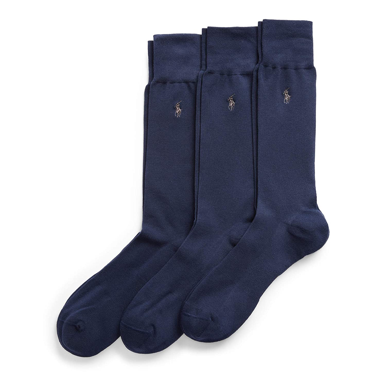 Polo Ralph Lauren – Juego de 3 pares de calcetines Supersuaves ...
