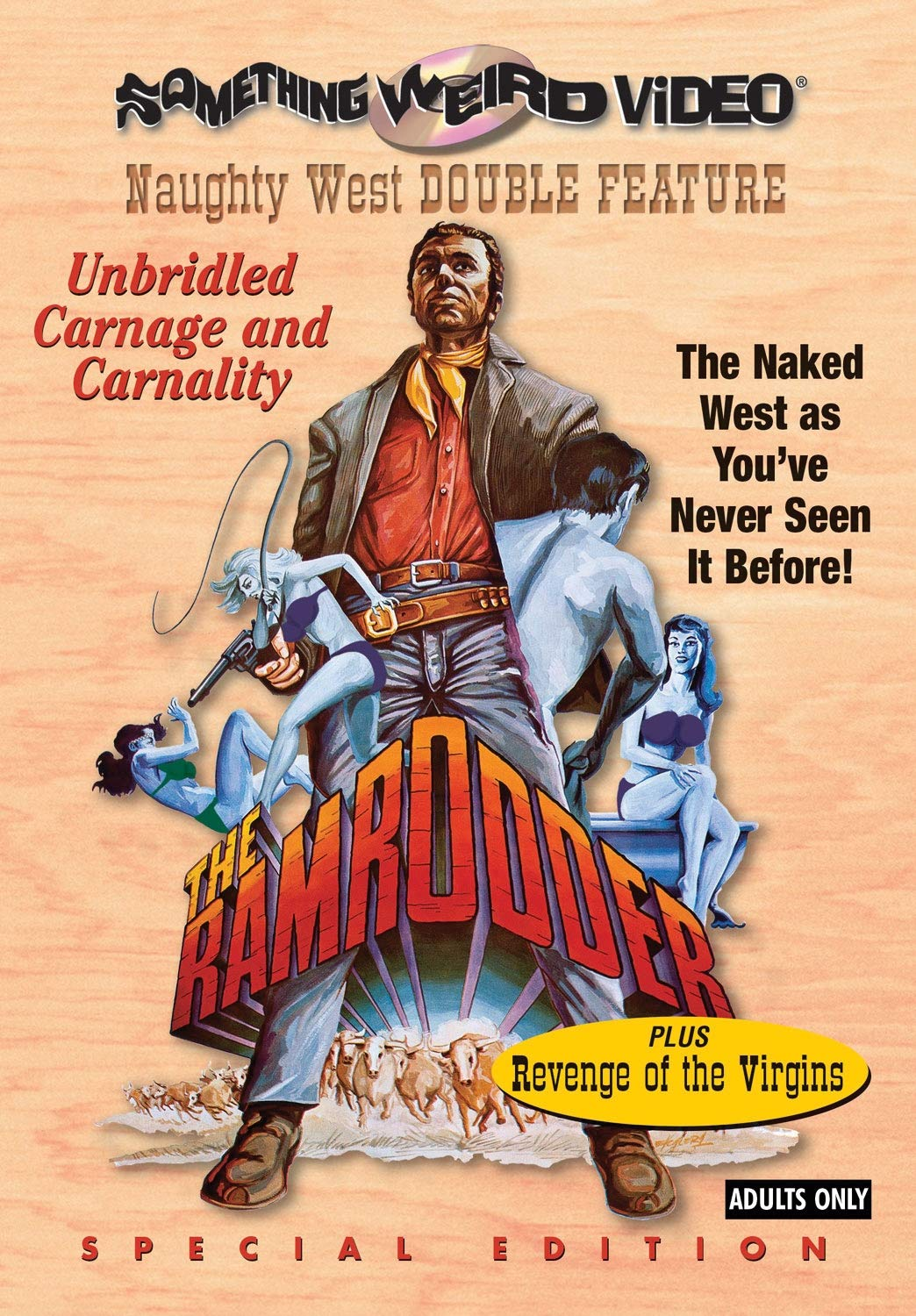 Amazon com: The Ramrodder / Revenge of the Virgins (Special