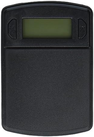 Fast Weigh MS-600-BLK Digital Pocket Scale, 500 by 0.1 G by American Weigh: Amazon.es: Hogar