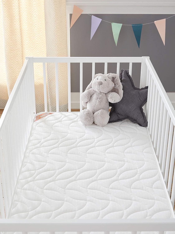 Babysom 60x120cm Babymatratze Kindermatratze Sommer//Winter Luftdurchl/ässiger Kaltschaum Atmungsaktiv H/öhe 14cm