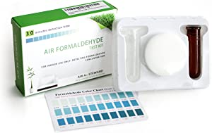 Air Formaldehyde (HCHO) DIY test kit - Know What's in the Air that Surrounds You (Pack of 5)