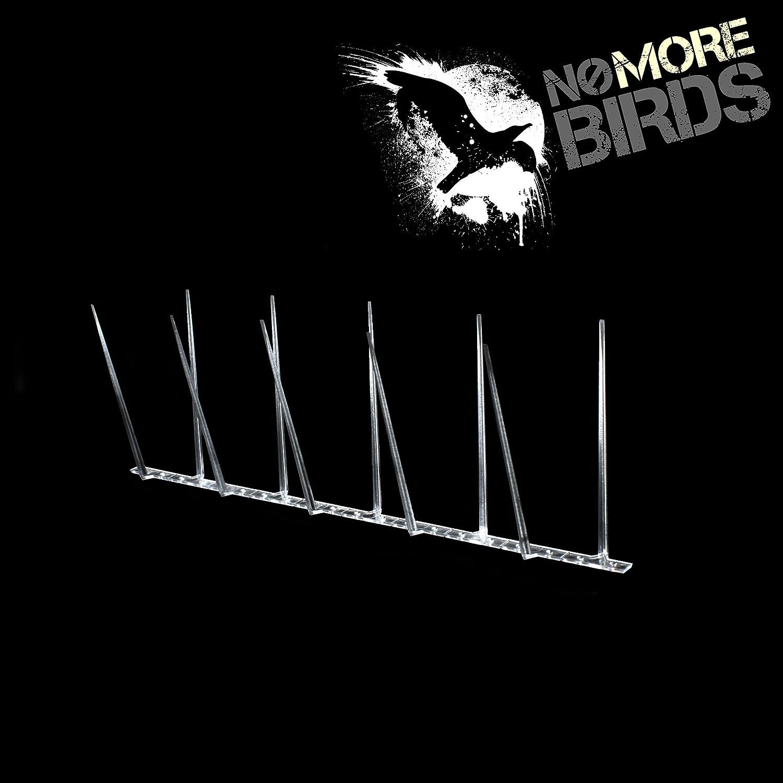 Narrow Plastic Pigeon Spikes (42mm x 112mm x 1m) Defender