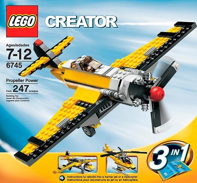 Amazon Lego Creator Propeller Power 6745 Toys Games
