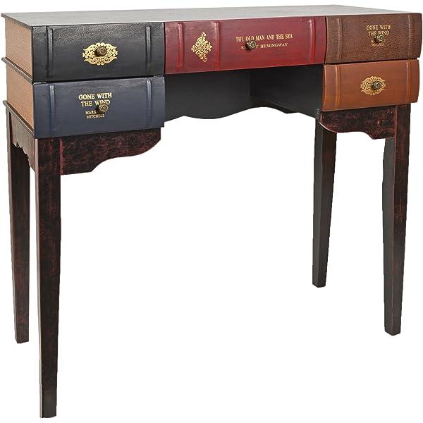 ts-ideen Escritorio mesa de trabajo en forma de libro para salón ...