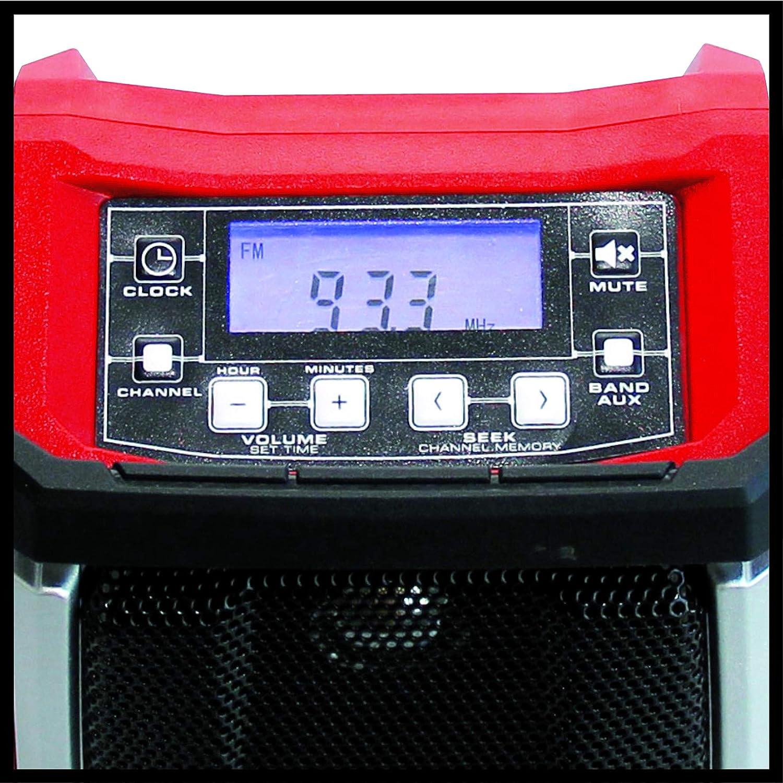 Amazon.com: Einhell Cordless Radio TE-CR 18 | 18 Volt Bare ...