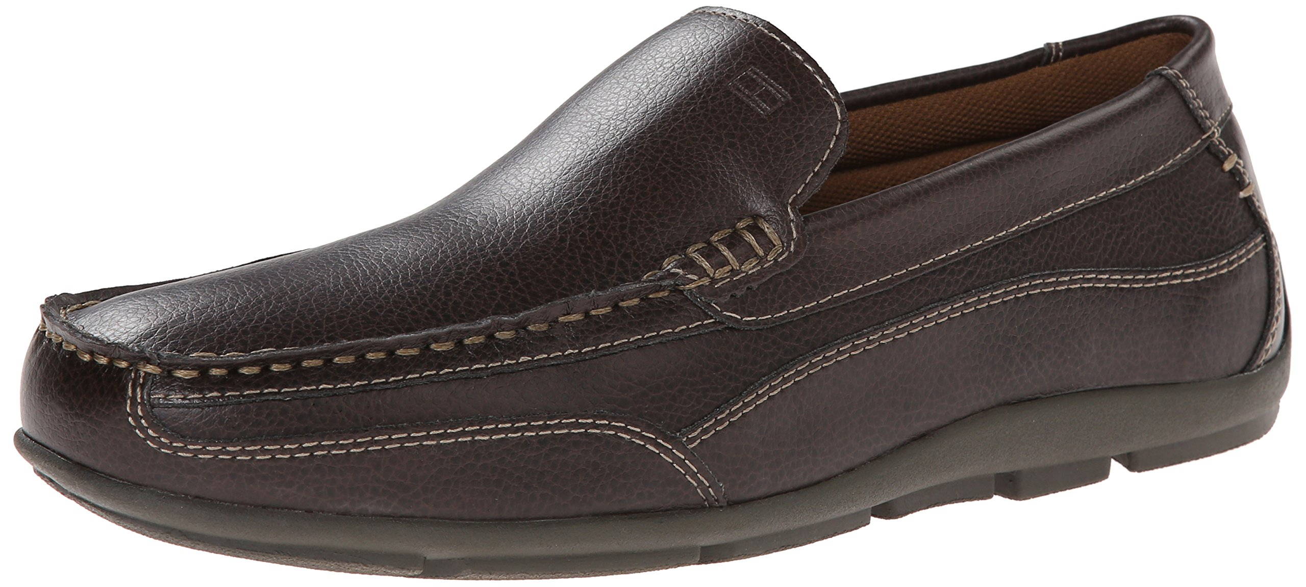 Tommy Hilfiger Men's Dathan Boat Shoe, Brown, 10.5 M US by Tommy Hilfiger