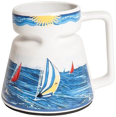 Galleyware Company Sailboat Non-skid Ceramic Mug, 16 Oz: Amazon.co ...