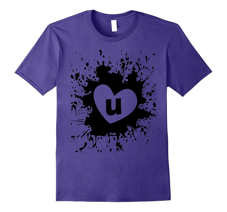 Abstract Art Tshirts For WomenMenBoys  Girls I Love U-Vaci