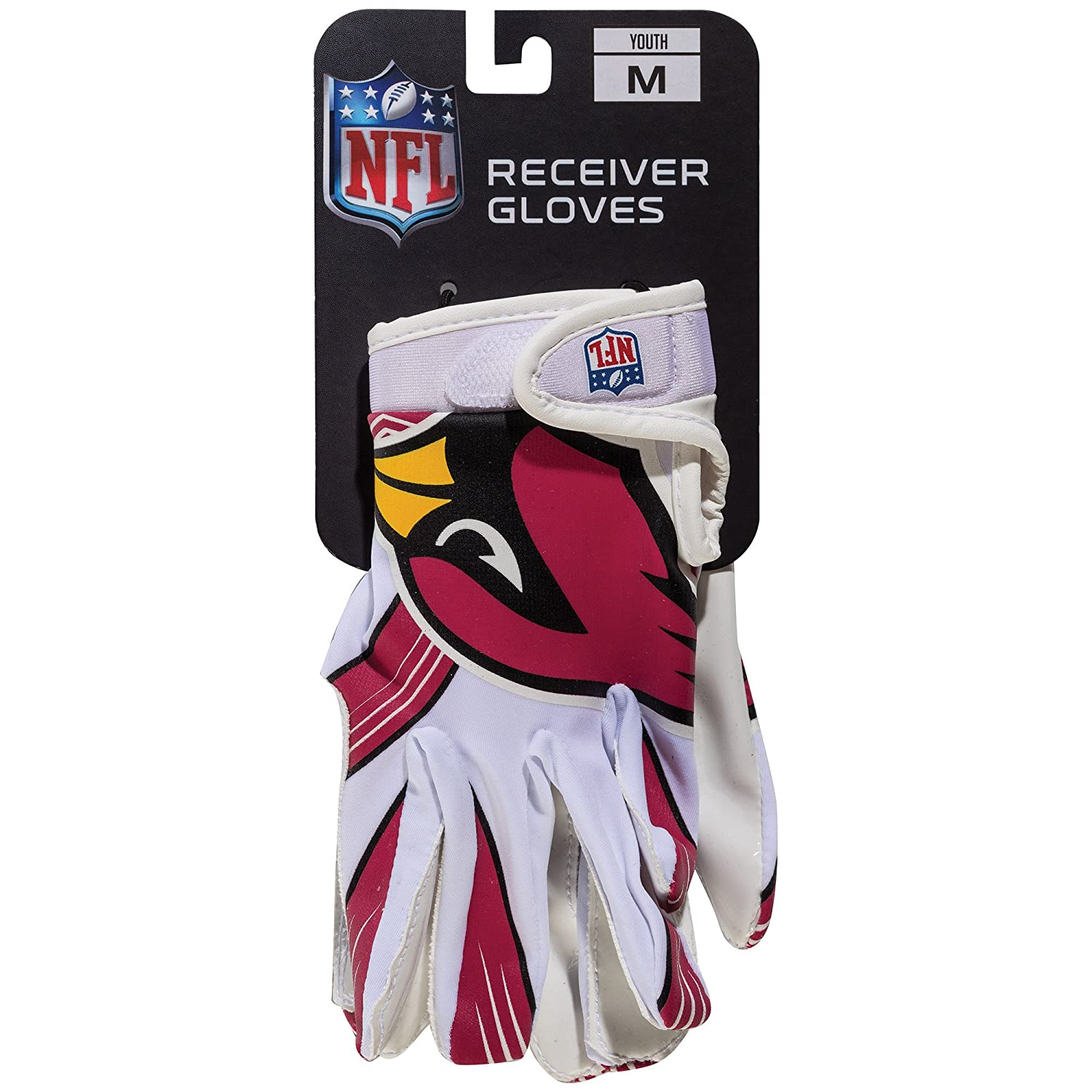 2fd58667d72a Amazon.com   NFL Arizona Cardinals Youth Receiver Gloves