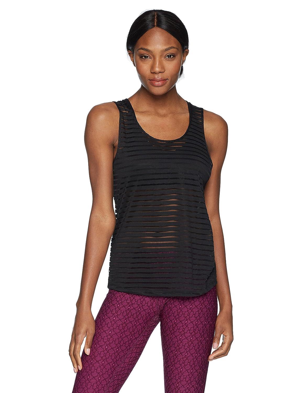 2e514b3944836 Sam Edelman Women s Sheer Stripe Tank at Amazon Women s Clothing store