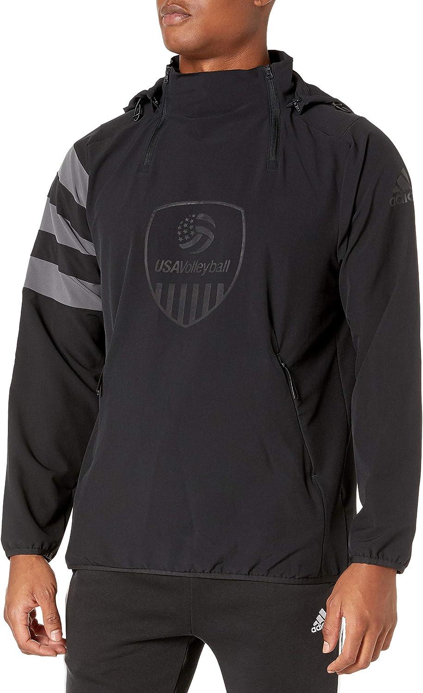 adidas unisex-adult Usa Volleyball All-weather Jacket