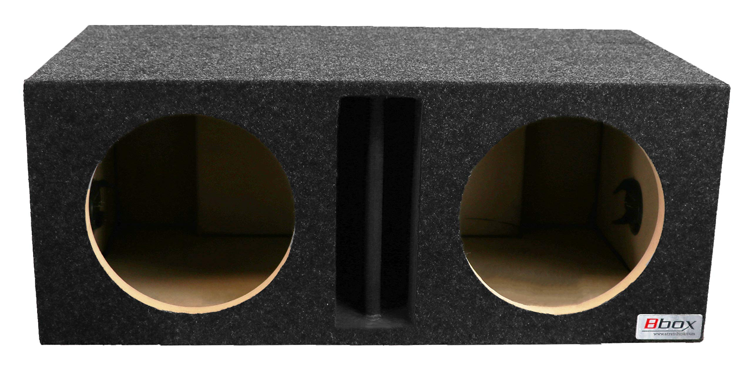 Bbox E10DV Dual 10'' Vented Divided Chamber Carpeted Subwoofer Enclosure
