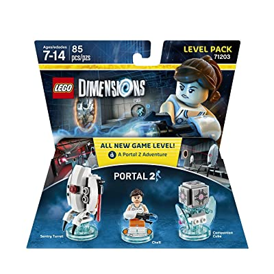 Portal 2 Level Pack - LEGO Dimensions: Lego Dimensions Portal 2 Level Pack: Video Games [5Bkhe0501733]