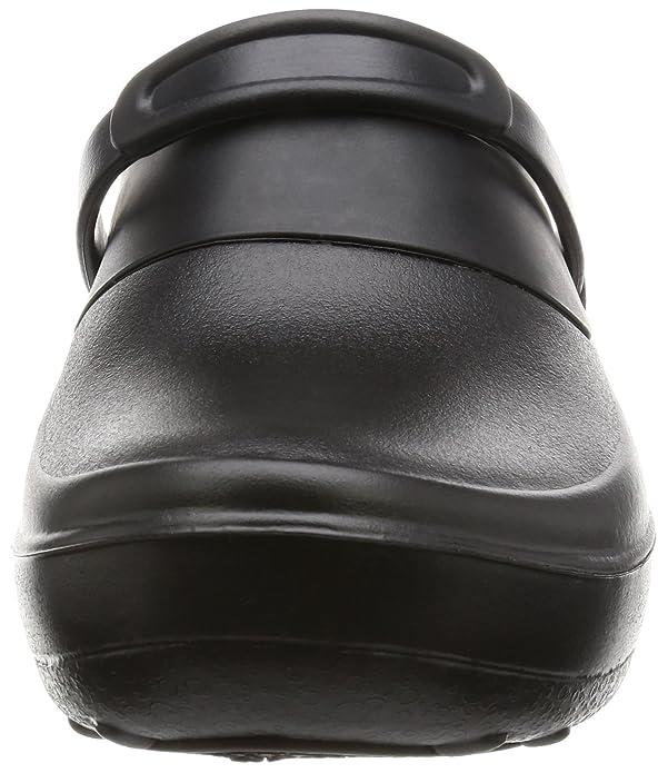 e369a6fb Crocs Unisex Mercy Work Croslite Slip On Clog Black/Black: Amazon.es:  Zapatos y complementos