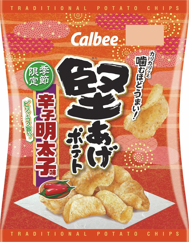 Pommes de terre dures Calbee KATAAGE mentaiko 60g × 12 Japon