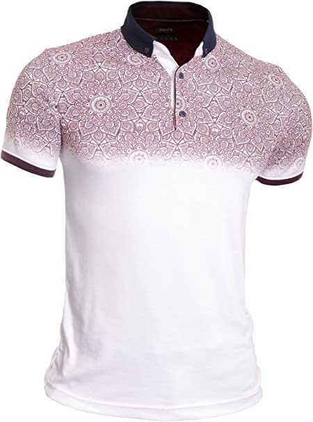 Hombre Camiseta Polo Camisa Casual Manga Corta Algodón Suave ...