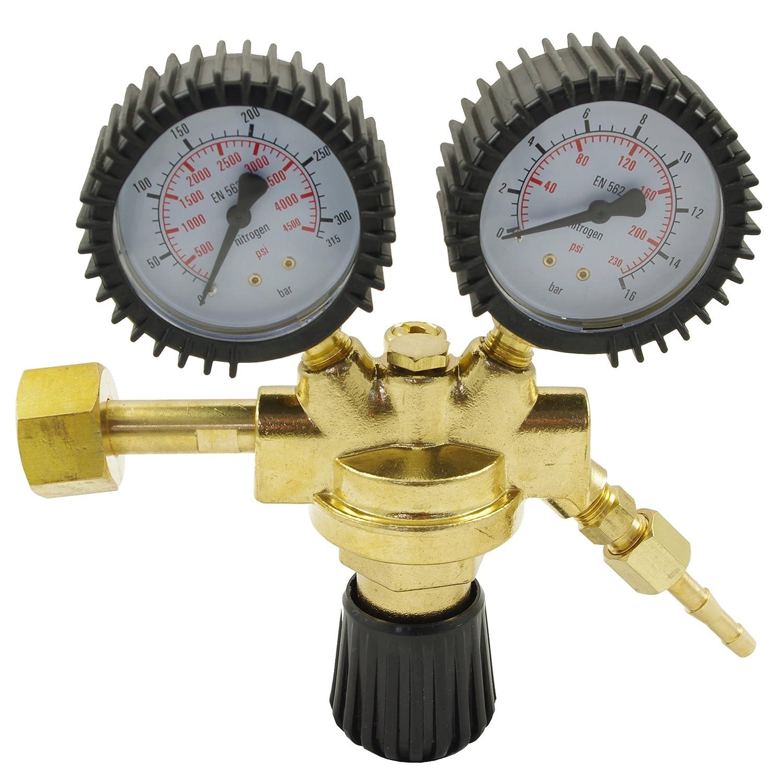Pressure reducer Valve Pressure Regulator for Nitrogen (N2) IPO-Technik Handels GmbH