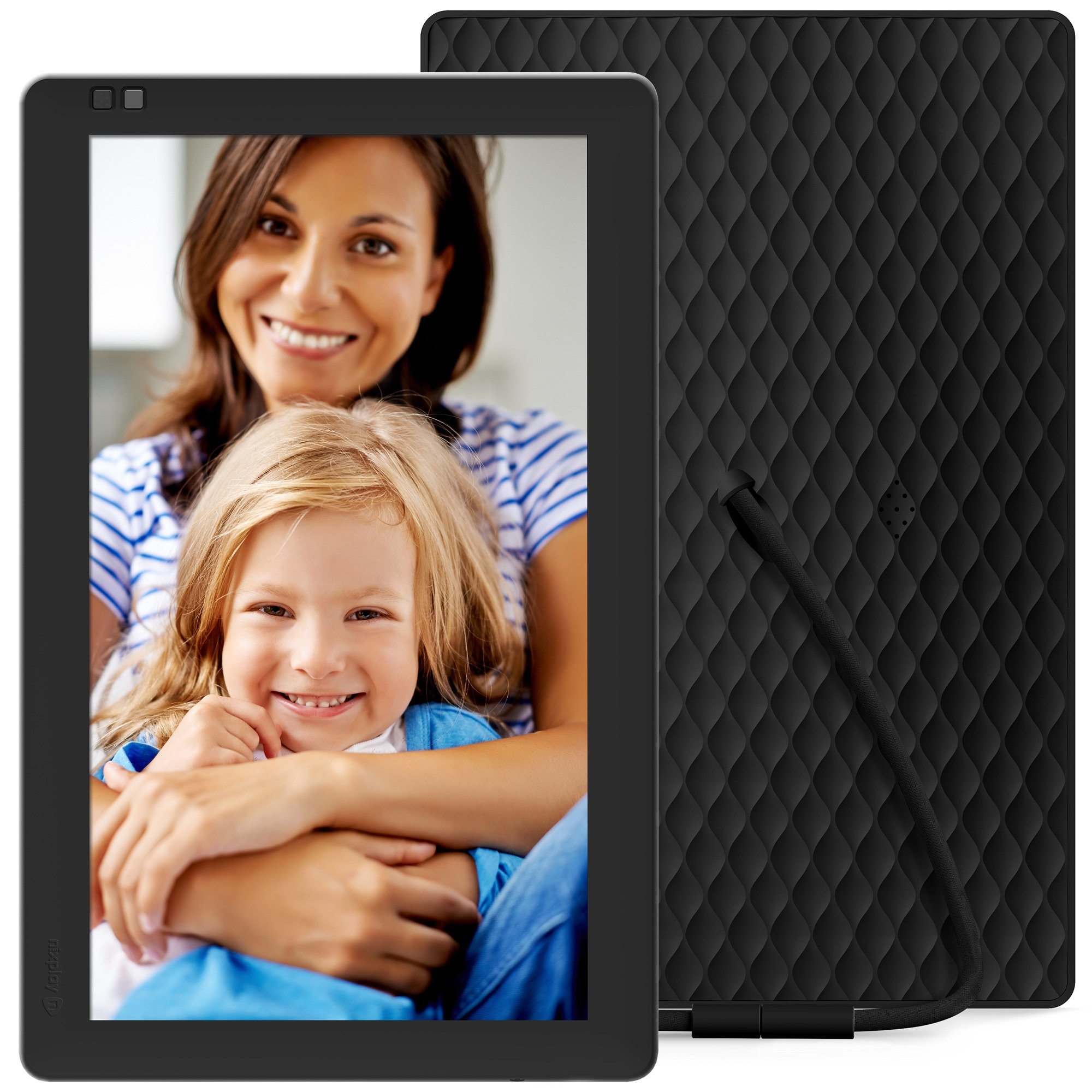 Nixplay Seed 10.1 Inch Widescreen Digital Wi-Fi Photo Frame W10B Black - Digital Picture Frame with IPS Display and 10GB Online Storage, Display and Share Photos with Friends via Nixplay Mobile App by nixplay