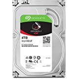NAS IronWolf, 4TB, ST4000VN008, Seagate, HD Interno, Cinza