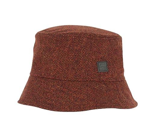 d46a9b5c Tilley TTH2 Tec-Wool Tuckaway Hat - Red Herringbone, 7 1/2