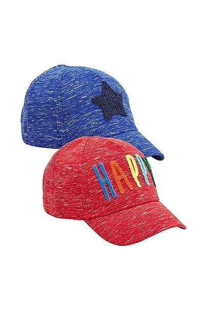 nuovo economico preordinare nuovo autentico next Bambini E Ragazzi Confezione da Due Cappellini Happy ...