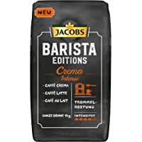 Jacobs Barista Editions Crema Intense, Kaffee Ganze Bohne, 1 kg