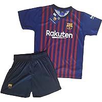 Conjunto Camiseta y Pantalon 1ª Equipación 2018-2019 FC. Barcelona -  Réplica Oficial Licenciado 699539861bbde