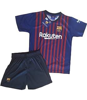 cb70b8997 Conjunto Camiseta y Pantalon 1ª Equipación 2018-2019 FC. Barcelona -  Réplica Oficial…