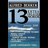 13 Extra Urlaubsmorde August 2019 Krimi Sammelband 13002