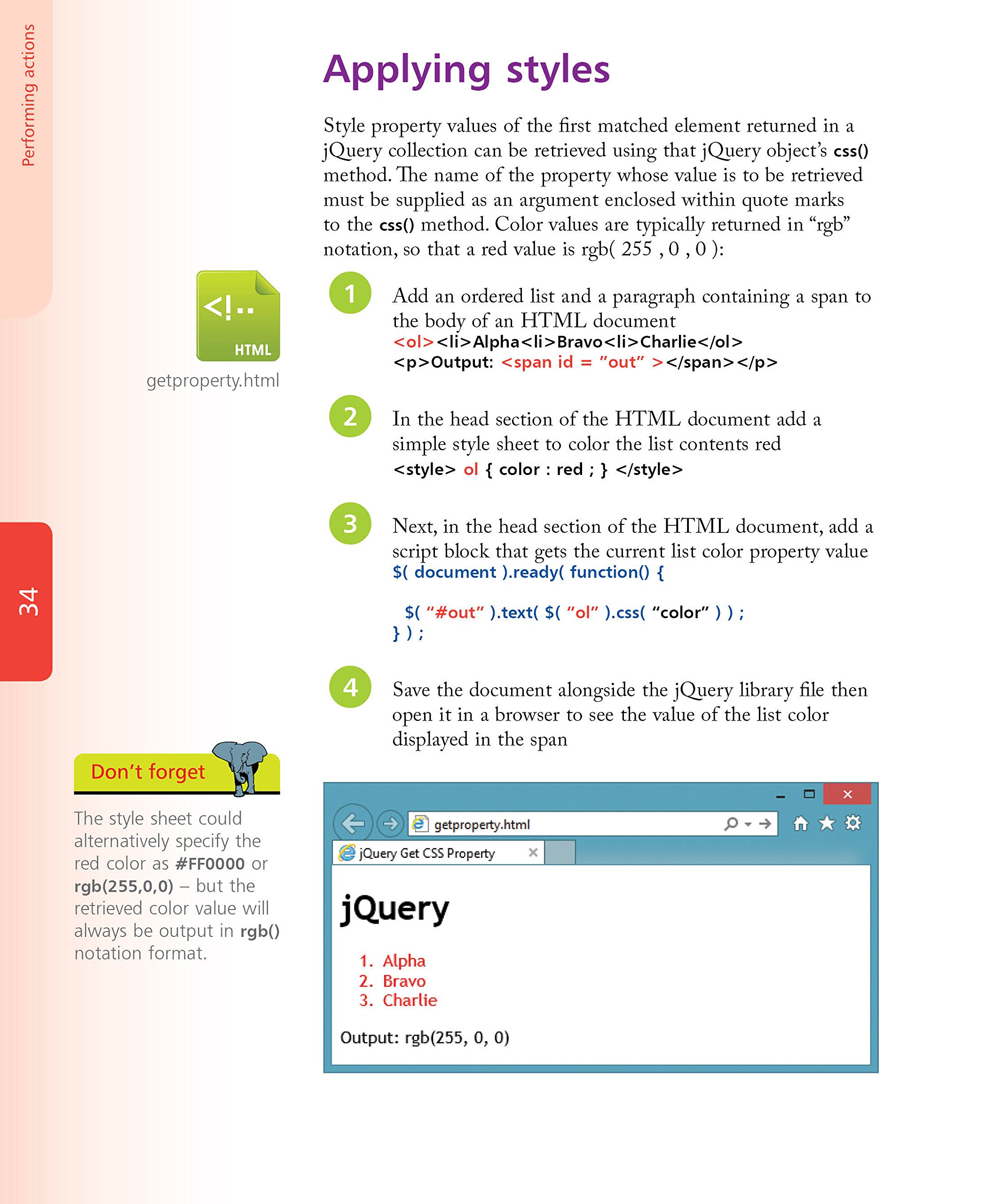 jQuery in easy steps: Mike McGrath: 9781840786194: Amazon