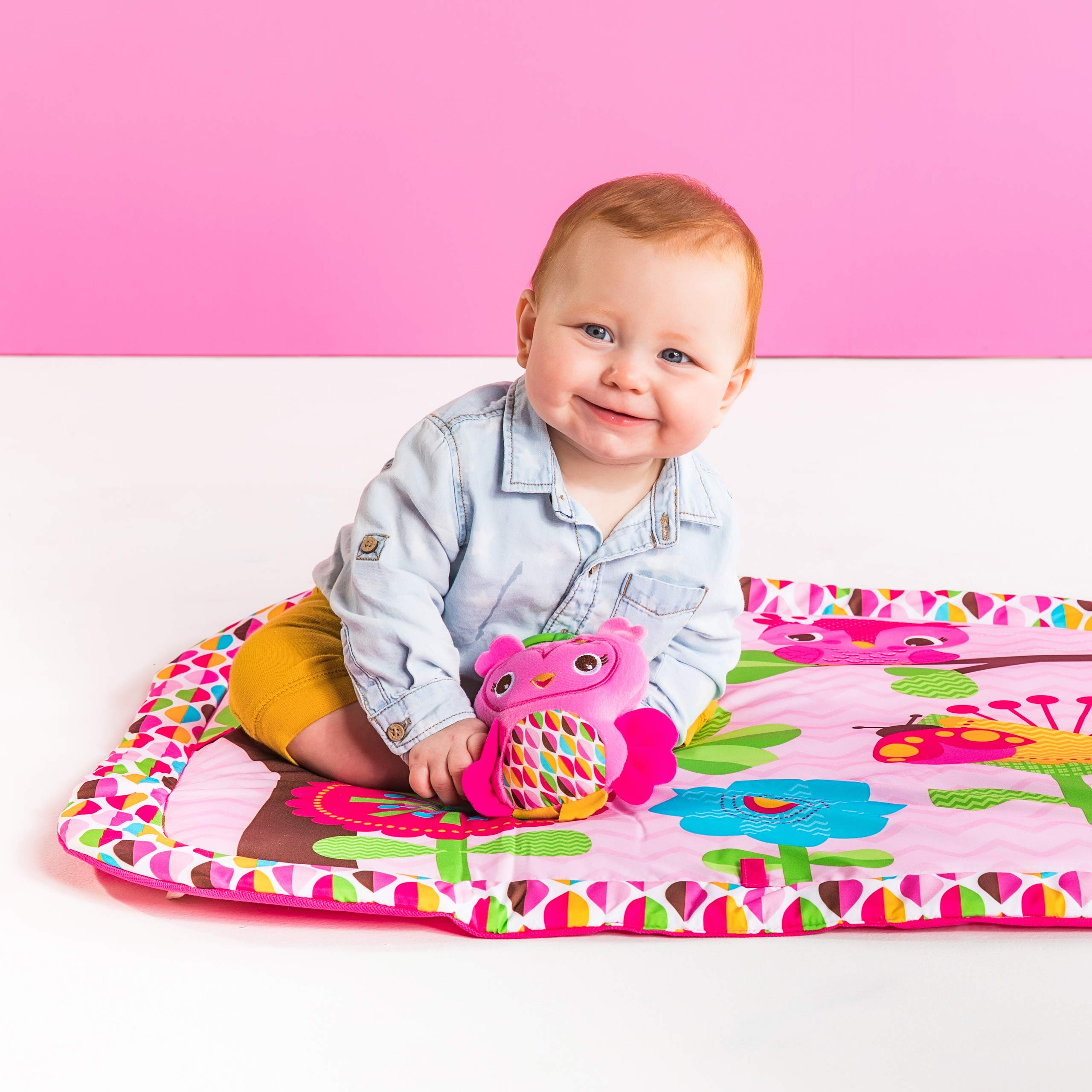Bright Starts Charming Chirps Activity Gym, Pretty In Pink by Bright Starts (Image #8)