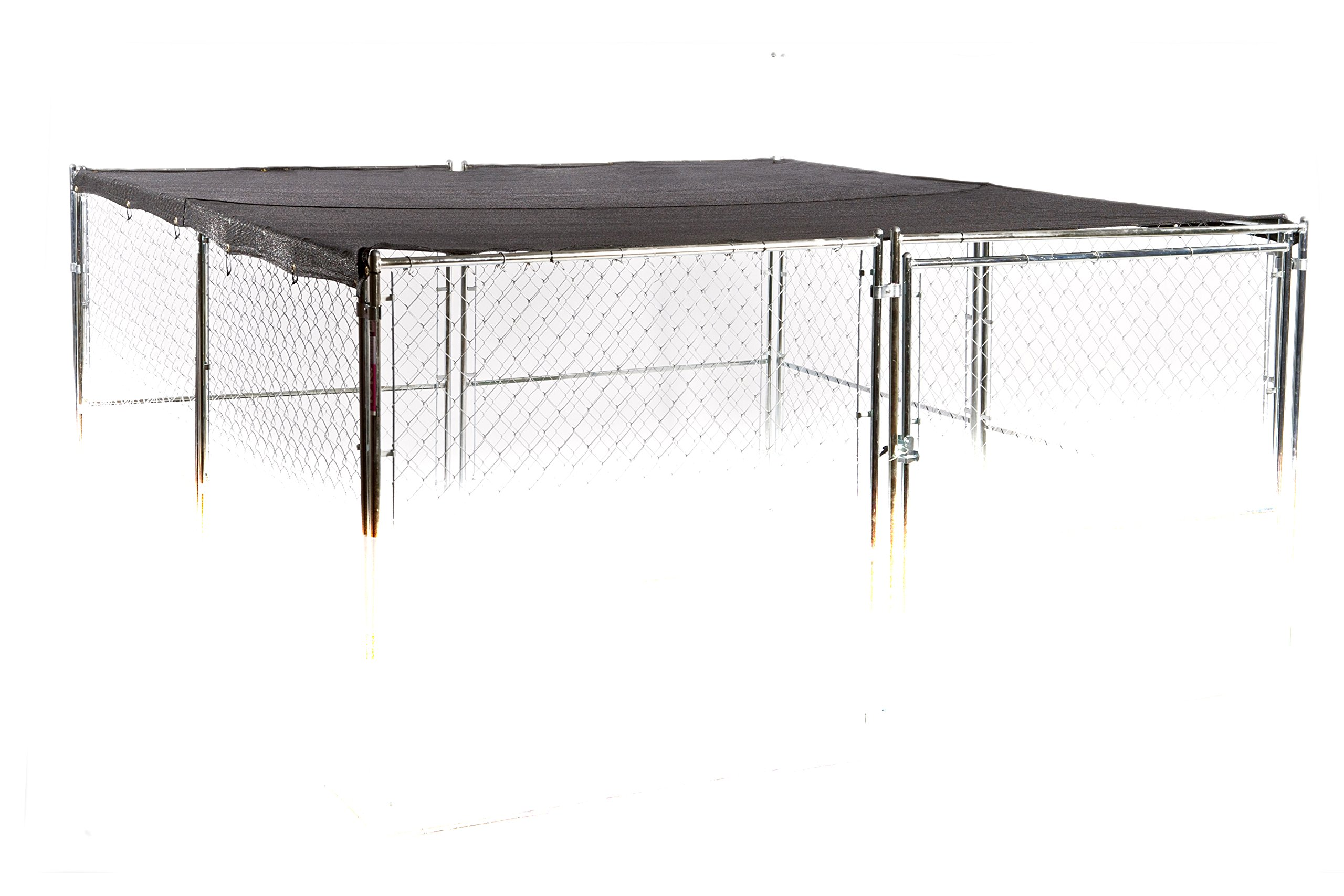 Weatherguard Universal Extra Large Shade Cover and Windscreen for Outdoor Cages and Pens - 10ft. X 10ft.