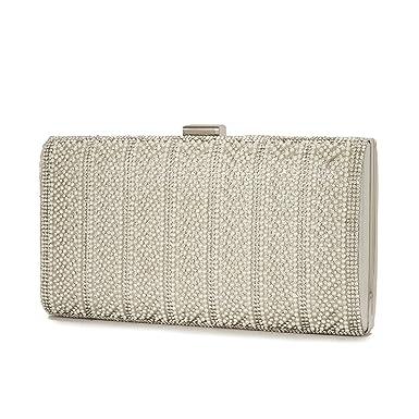 e547f90947951 XINDI Evening Bag Gold Clutch Bag for Women Luxury Handbag Diamonds Chain  Hasp Evening Rhinestones Shoulder