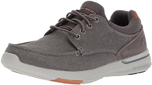 cb68b35d Skechers Elent-Mosen, Zapatillas para Hombre: Amazon.es: Zapatos y  complementos