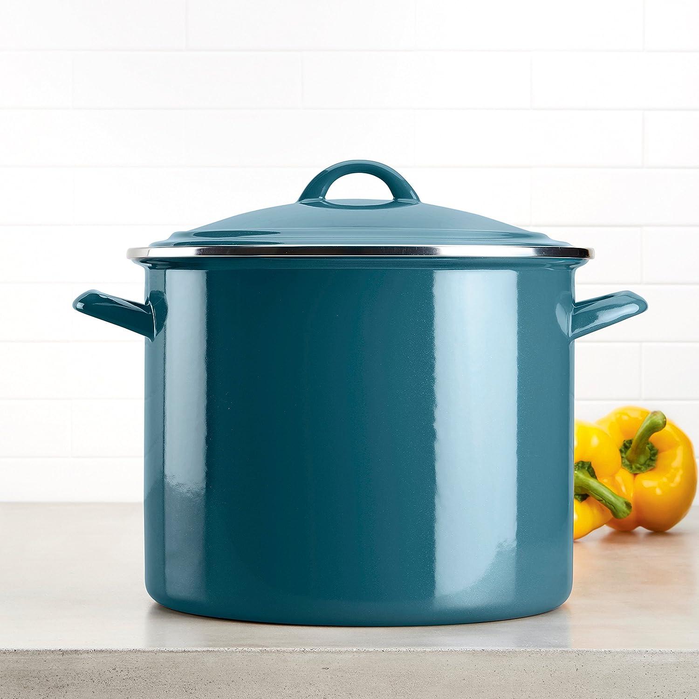 Amazon.com: Ayesha Curry Home Collection Enamel on Steel Stockpot ...