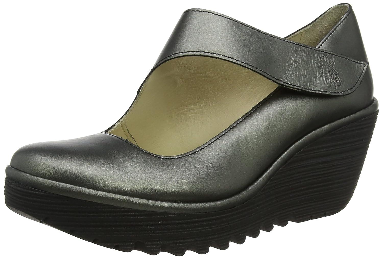 TALLA 40 EU. Fly London Yasi682fly, Zapatos de tacón con Punta Cerrada para Mujer
