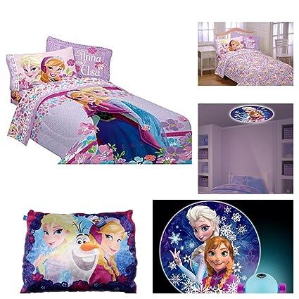 Disney Frozen Love Blooms Full Sheets