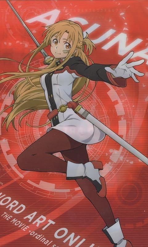 ソードアートオンライン アスナ(Asuna) FVGA(480×800)壁紙画像