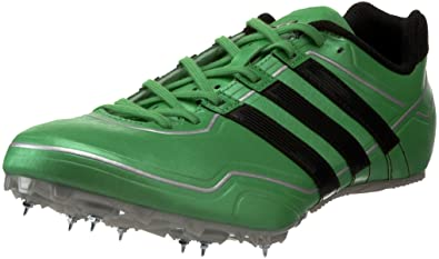 pretty nice d8e25 edf54 adidas Men s Sprint Star 2 M Running Shoe,Intense Green Black Metallic  Silver